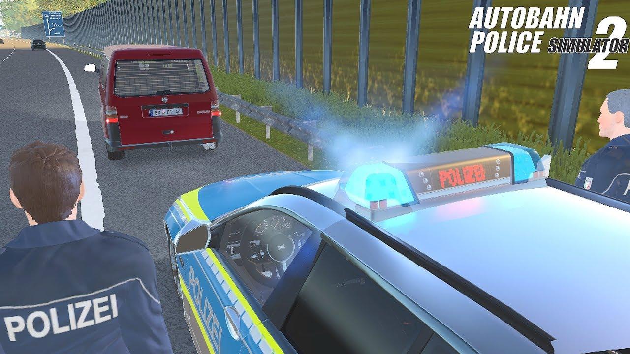 Autobahn Police Simulator 2 Vehicle Checks And Arrest 4k Youtube