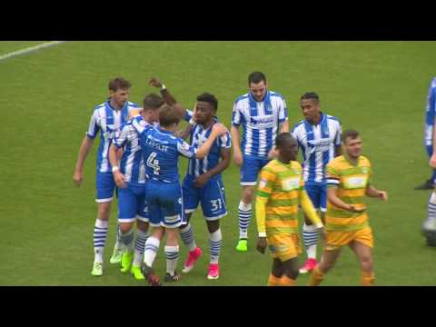 HIGHLIGHTS: COLCHESTER UNITED 2-0 YEOVIL TOWN