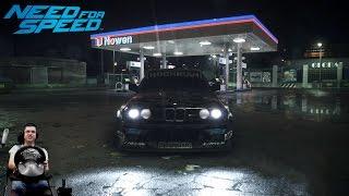 Безумный Блок vs ураганная BMW M3 E30 Need For Speed 2015 2016 на руле Fanatec Porsche 911 GT2