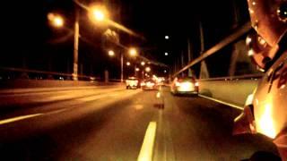 F800GS. NYC. Tri Borough Bridge ride through