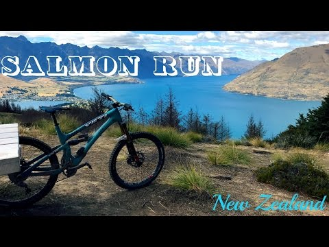 Salmon Run - Queenstown, New Zealand (Follow Cam) *My Fav Trail in NZ*