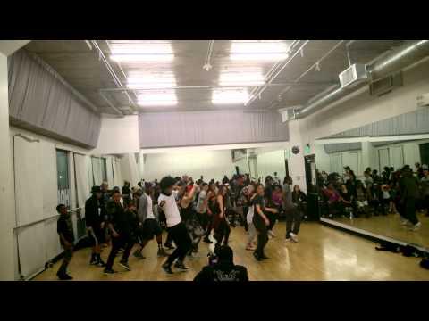 """Les Twins"" masterclass in IDA Dance Academy, Hollywood"