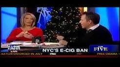 SHOCK: Fox The Five Smoke Cigarette LIVE on TV