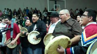 Tanner Albers memorial rounddance song 2012