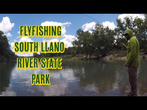 Fly Fishing South Llano River State Park Near Junction Texas!