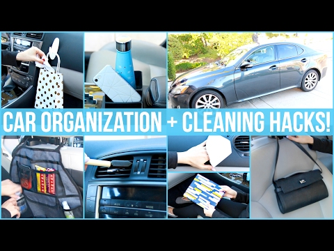 Car Organization and Cleaning Hacks!