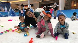 Zara Cute in Snowy Wonderland | Asyiknya Main Salju di Living World Tangerang