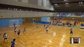 7日 ハンドボール女子 福島市国体記念体育館 Cコート 佼成女子vs玉野光南 3回戦 1