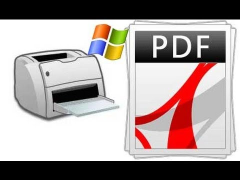 Print any file to PDF format in windows for FREE