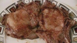 Grilled Perfect Pork Chops  (restaurant Cooking Secret)