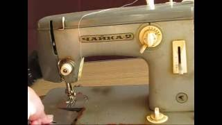 Как научиться шить на швейной машинке Чайка(Вы ознакомитесь с машинкой класса