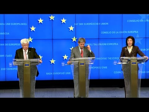 AGRIFISH Council, 24.03.2014 - Press Conference