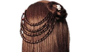 Easy Hair Style for Girls | Beautiful Hairstyle for Long Hair by Sonia Goyal