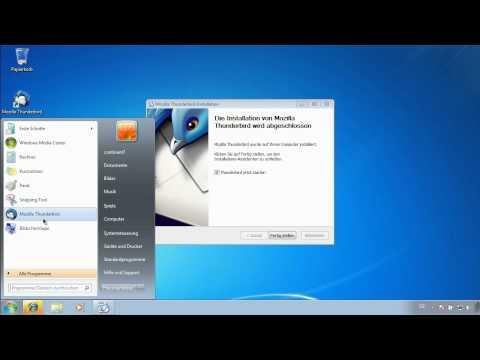 Mozilla Thunderbird einrichten