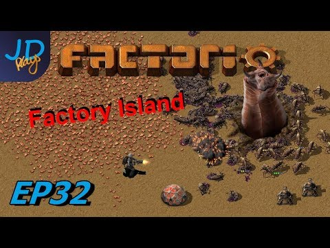 Factorio 0.17 | Factory Island EP32 Forward planning helps in late game | Tutorial, Guide, Lets Play thumbnail