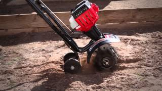 The TB225 gas cultivator | How to set up your 2-cycle cultivator