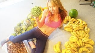 RAW FOOD WEIGHT LOSS: I eat up to 50 bananas a day!