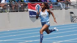 4x100m National Record | 14-Year-Old Girls