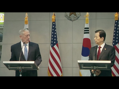 "Trump's Defense Secretary Warns North Korea: US Response Will Be ""Overwhelming"" - Full Statement"