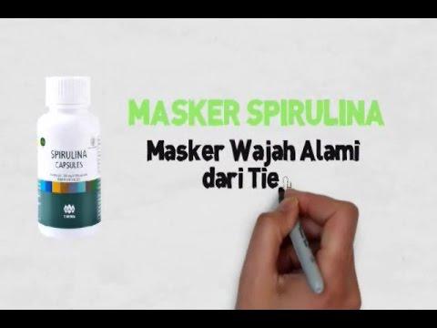 Masker Spirulina Indonesia