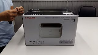 Canon LBP 6030 Laser Printer Unboxing, Quick Review and installation guidelines by IT Support BD