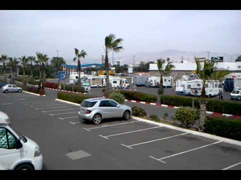 Marjane supermarket (carpark) Agadir