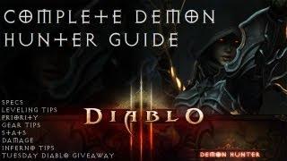 Complete Demon Hunter Guide - Beginner to Advanced in Diablo 3