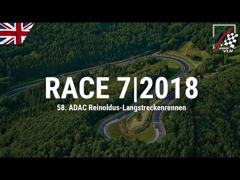 RE-LIVE: 7th VLN race 2018 at the Nürburgring