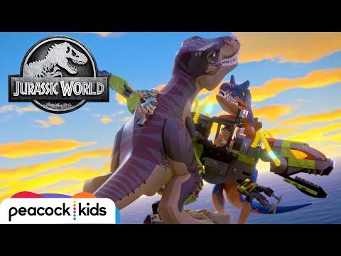 The Battle For Jurassic World | LEGO JURASSIC WORLD: LEGEND OF ISLA NUBLAR