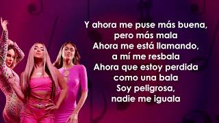 Lola Indigo, TINI, Belinda - Niña de la Escuela (Letra/Lyrics)
