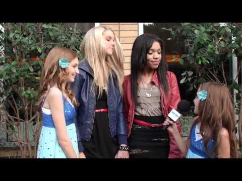 Interviews with Madison Curtis and Teala Dunn at Rubix in Hollywood