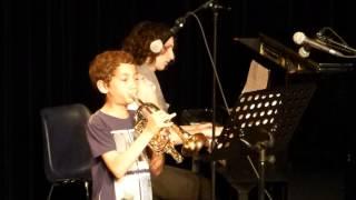 Texania (JC Vilain et Fred Gérard) : Classe de cornet de Gilles Olivier