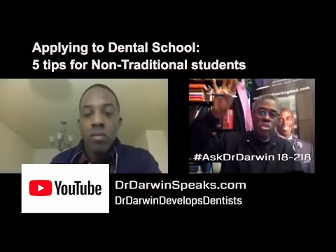 Applying to Dental School from the Military | #AskDrDarwin | New Dentist Coach Dr Darwin Hayes DDS