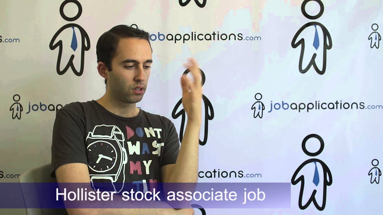 Hollister Interview - Stock Associate - YouTube
