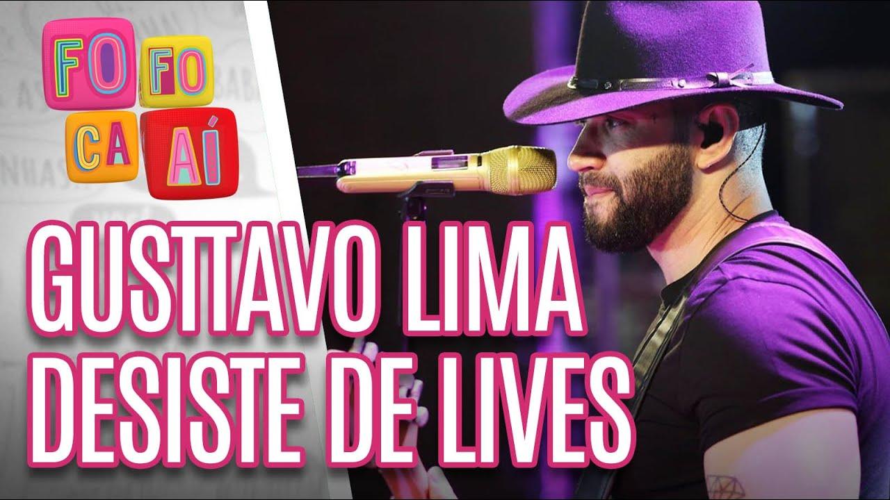 Gusttavo Lima DESISTE de fazer LIVES - Fofoca Aí (16/04/20)