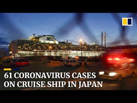 Coronavirus cases on cruise ship in Japan rise to 61