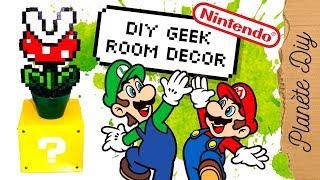 DIY Geek – Mario question block   Nintendo Home Decor français