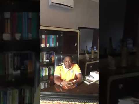 Kalaba on his resignation