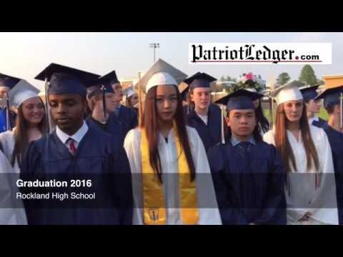 2016 a Graduation at Rockland High School