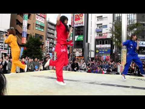 Chu!☆Lipsライブ(高円寺フェス2011バージョン)100万馬力のお年頃〜ウルトラ☆メガトン☆大好き♡