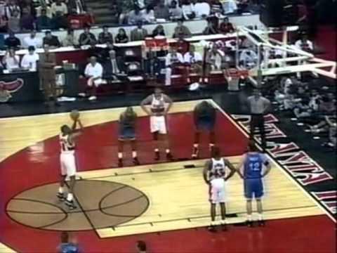 Steve Smith (35pts/7threes) vs. Magic (1996 Playoffs)