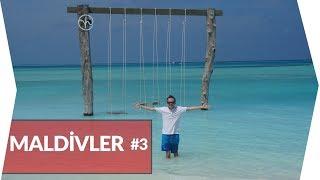 Maldivler'in En Güzel Adalarından Fushifaru'yu Gezdim | MALDİVLER