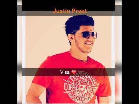 visaa ( justin preet ) lyrics song HD VIDEO