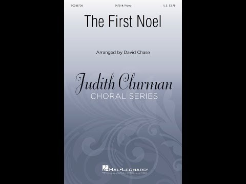 The First Noel (SATB) - Arranged by David Chase
