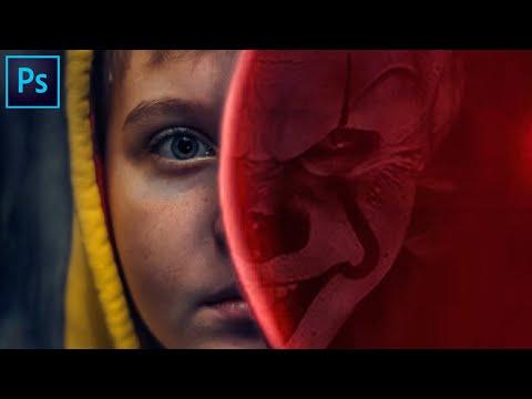 ОНО в фотошое Фотоманипуляция в Фотошопе Seed Art Photoshop Арт Коллаж Крутой Арт коллаж
