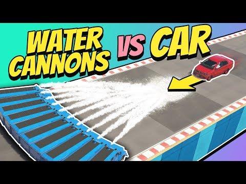 GTA 5 | Can WATER CANNONS Stop A CAR? thumbnail