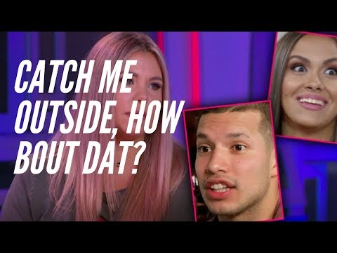 Kailyn Lowry & Briana from Teen Mom 2 THROW HANDS at the Reunion Special