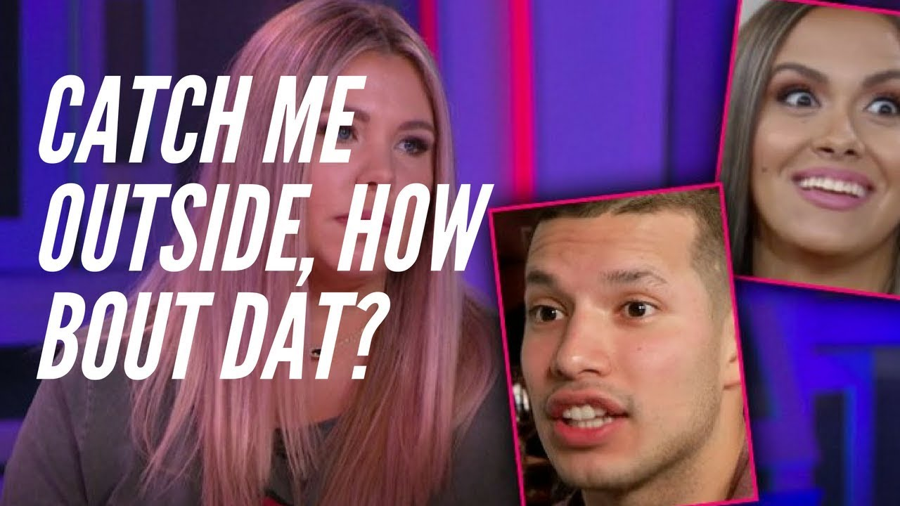 new products 71aa0 f1735 Kailyn Lowry   Briana from Teen Mom 2 THROW HANDS at the Reunion Special