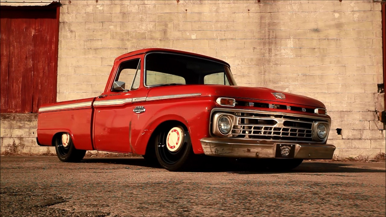 Quot Turpentine Quot Supercharged Turbo 1966 Ford F100 Slammed Air