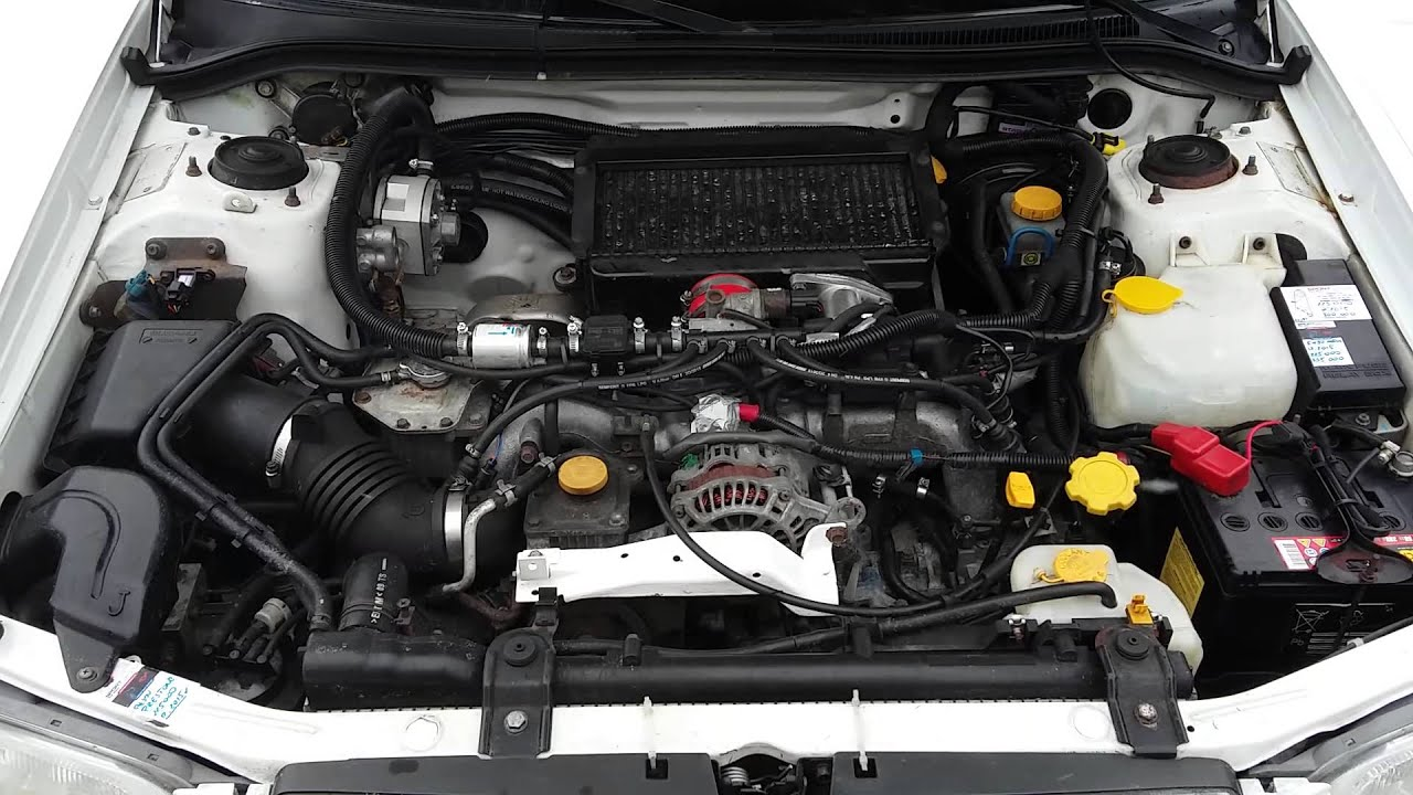 Forester S Turbo EJ20 Blow off Valve Sounds TURBO